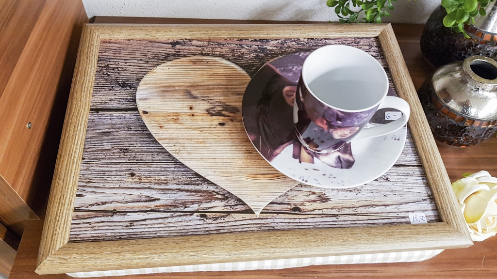 Kaffeeservice mit Kuhmotiv